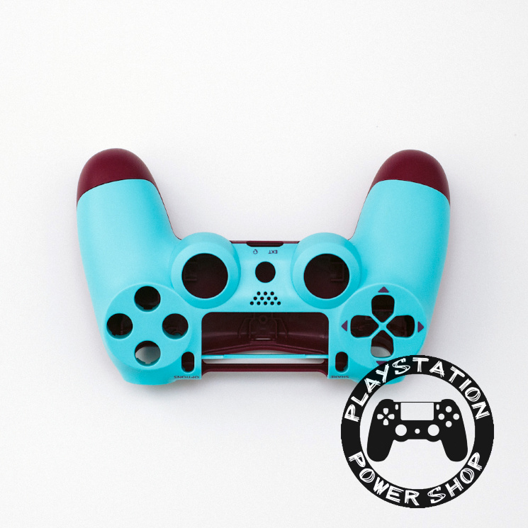 Матовый корпус Blue Berry для dualshock 4 v2