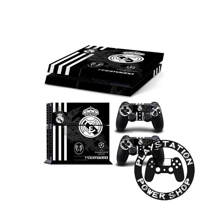 Виниловая наклейка на консоль Real Madrid