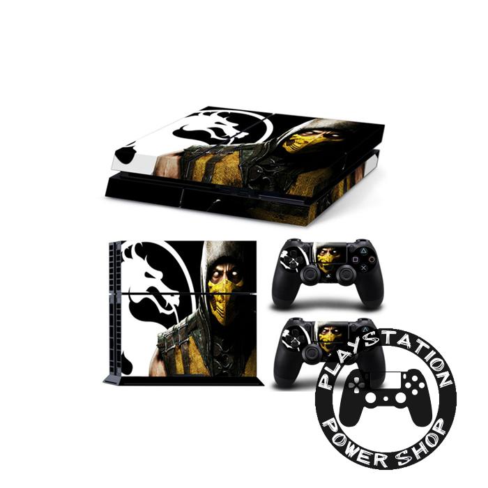 Виниловая наклейка на консоль Scorpion