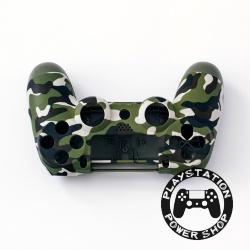 Матовый корпус (зеленый камуфляж) для dualshock 4 v2