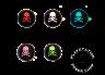 Накладки Skull