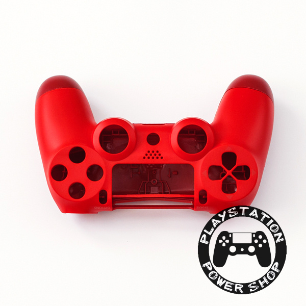 Матовый корпус (красный) для dualshock 4 v2