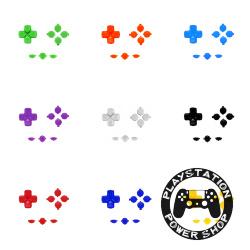 Кнопки для dualshock 4