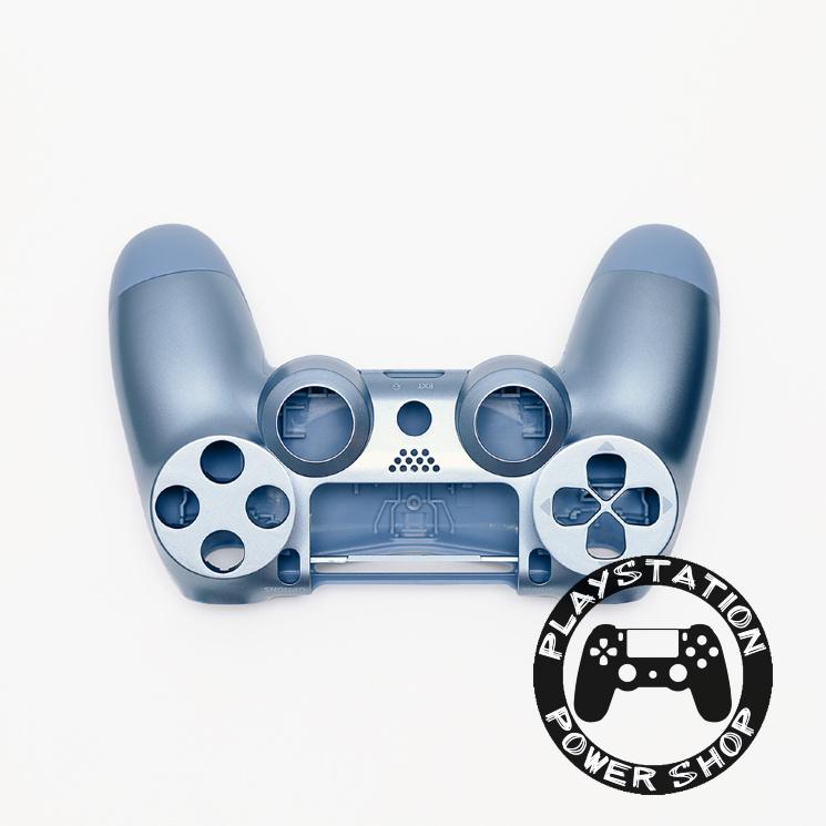 Матовый корпус Titanium Blue для dualshock 4 v2