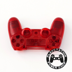 Матовый корпус Crystal Red для dualshock 4 v2