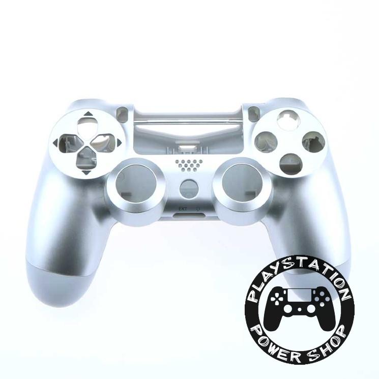Матовый корпус Silver для dualshock 4 v2