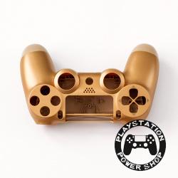 Матовый корпус Gold для dualshock 4 v2