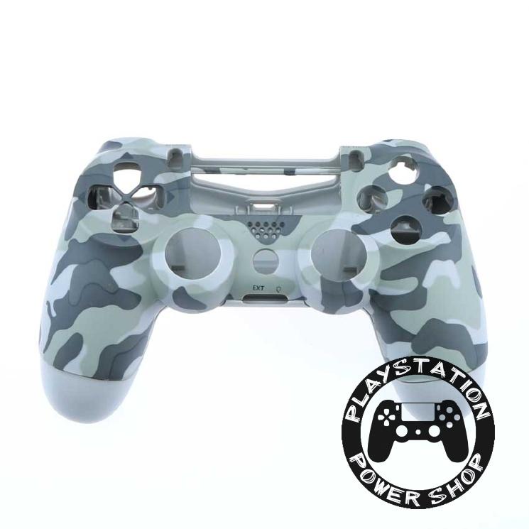 Матовый корпус Grey Camouflage для dualshock 4 v2